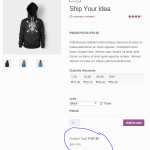 WooCommerce Product Price x Quantity Preview image 1