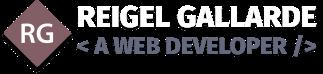 Reigel Gallarde Logo